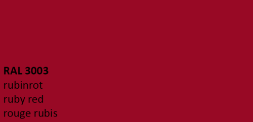 SELVIDA SPRAY CAN GELCOAT KIT ruby red RAL 3003, spray version